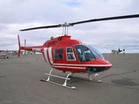CAPSTONE対応システムを搭載したヘリコプタ